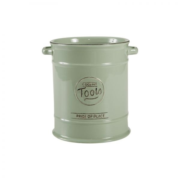 Buy the Pride Of Place Utensil Jar Old Green online at smithsofloughon.com