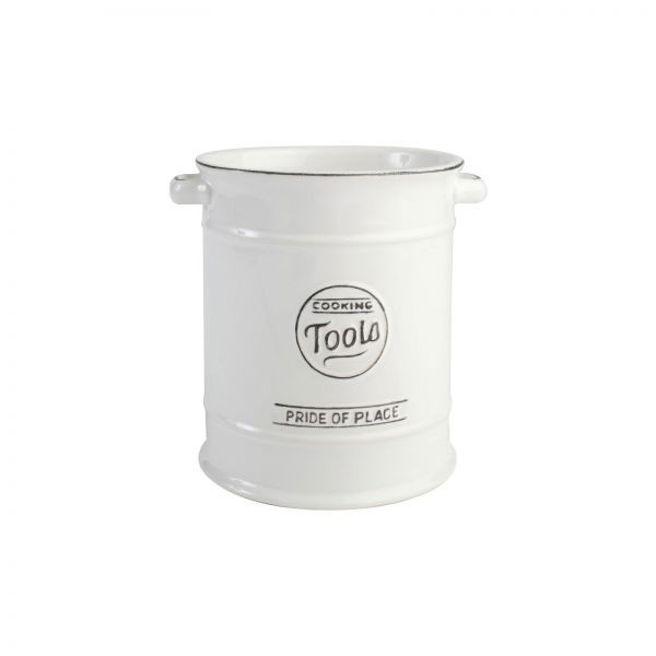 Buy the Pride Of Place Utensil Jar Old White online at smithsofloughon.com