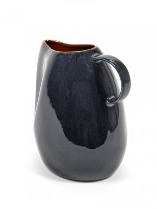 Buy the Serax Carafe Dark Blue online at smithsofloughton.com