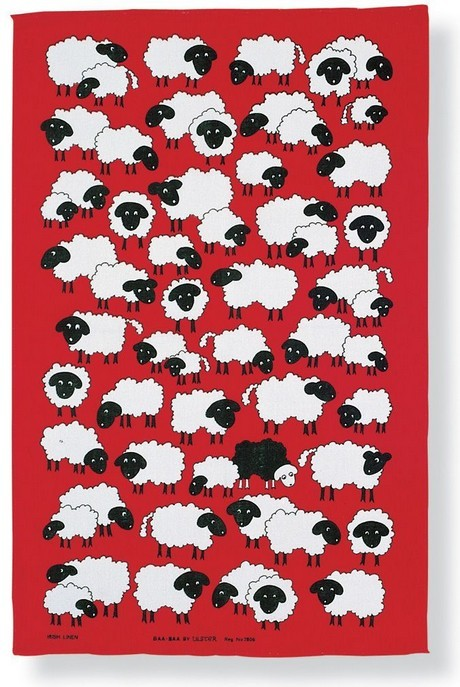 Buy the Ulster Weavers Tea Towel Baa Baa Sheep Print online at smithsofloughton.com