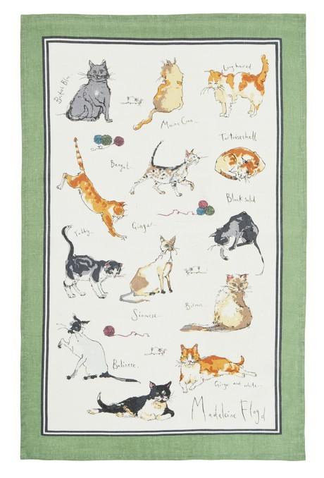 Buy the Ulster Weavers Tea Towel Cat Print online at smithsofloughton.com