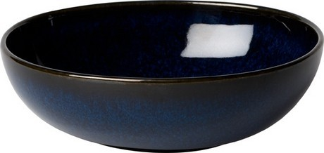 Buy the Villeroy and Boch Lave Bleu Bowl 17cm online at smithsofloughton.com