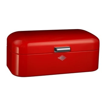 Buy the wesco Grandy Red Bread Bin online at smithsofloughton.com