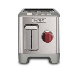 Buy the Wolf 2 Slice Toaster (Red Knob) online at smithsofloughton.com