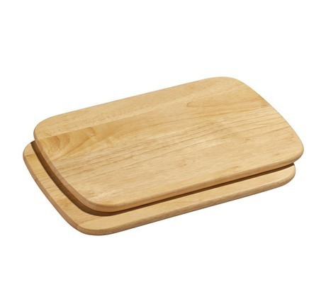 Buy the Zassenhaus Set of 2 Chopping Boards 28x20 cm online at smithsofloughton.com