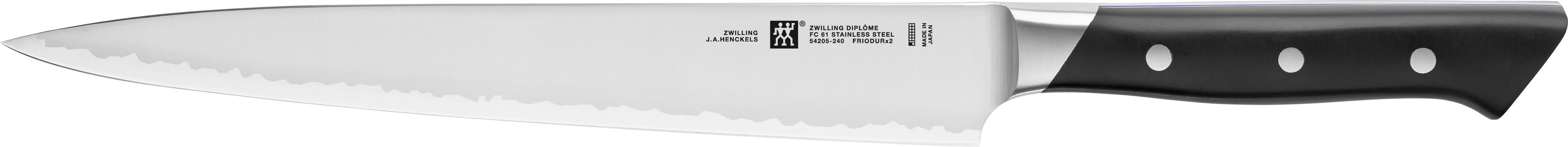 Buy the Zwilling J A Henckels Diplôme Slicing Carving Knife 24cm online at smithsofloughton.com
