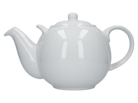 Buy theLondon Pottery 10 Cup GlobeTeapot White online at smithsofloughton.com