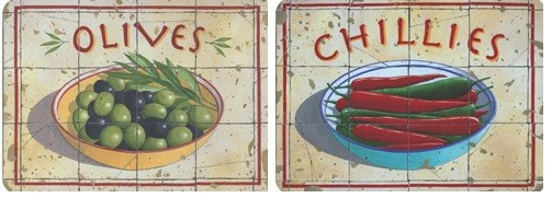 Buy Castle Melamine Chillies and Olives Placemats online at www.smithsofloughton.com