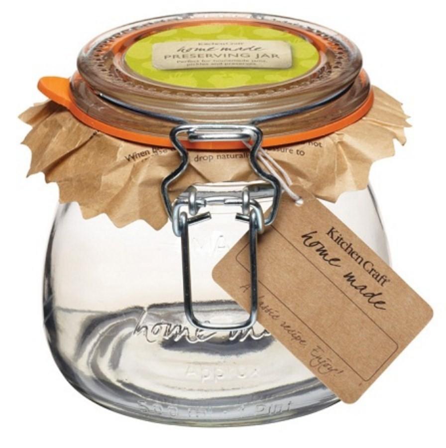 Kitchen Craft Glass Preserving Jar 550ml