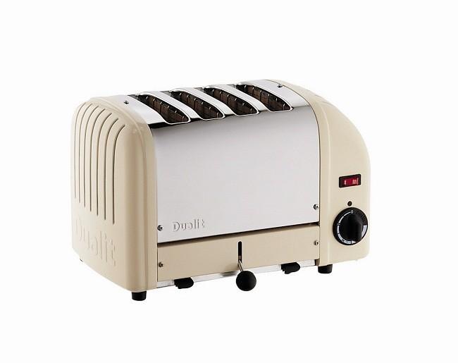 Dualit Vario 4 Slot Toaster Cream
