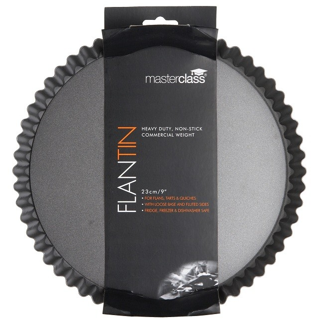 Master Class Fluted Flan/Quiche Pan 9 inch