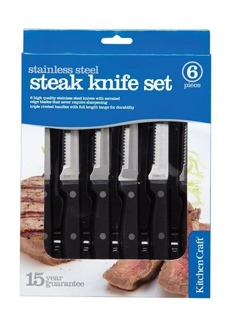 Kitchen Craft Steak Knife Set