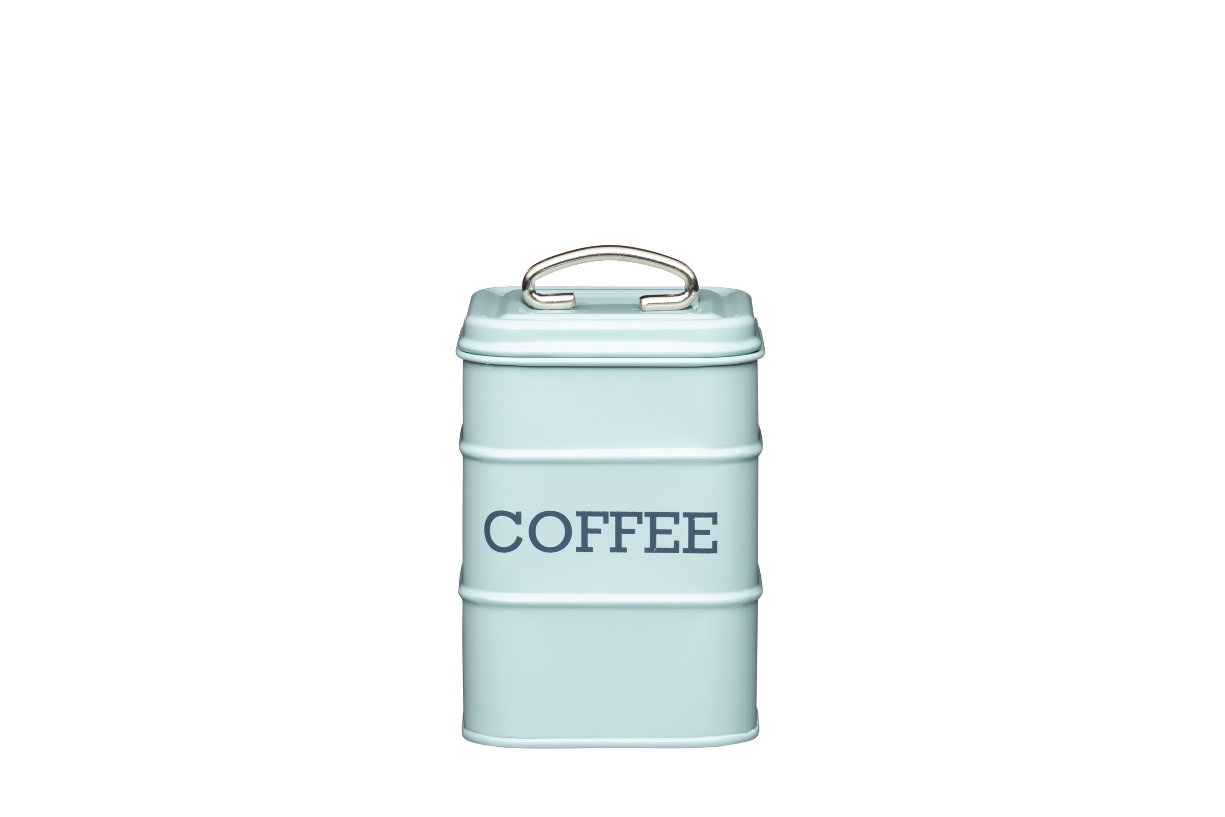 Kitchen Craft Living Nostalgia Coffee Canister Blue 11cm X 17cm