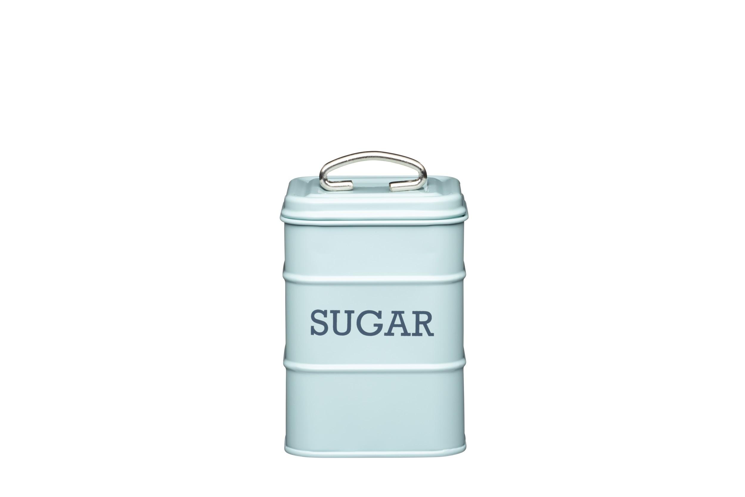 Kitchen Craft Living Nostalgia Sugar Canister Blue 11cm X 17cm
