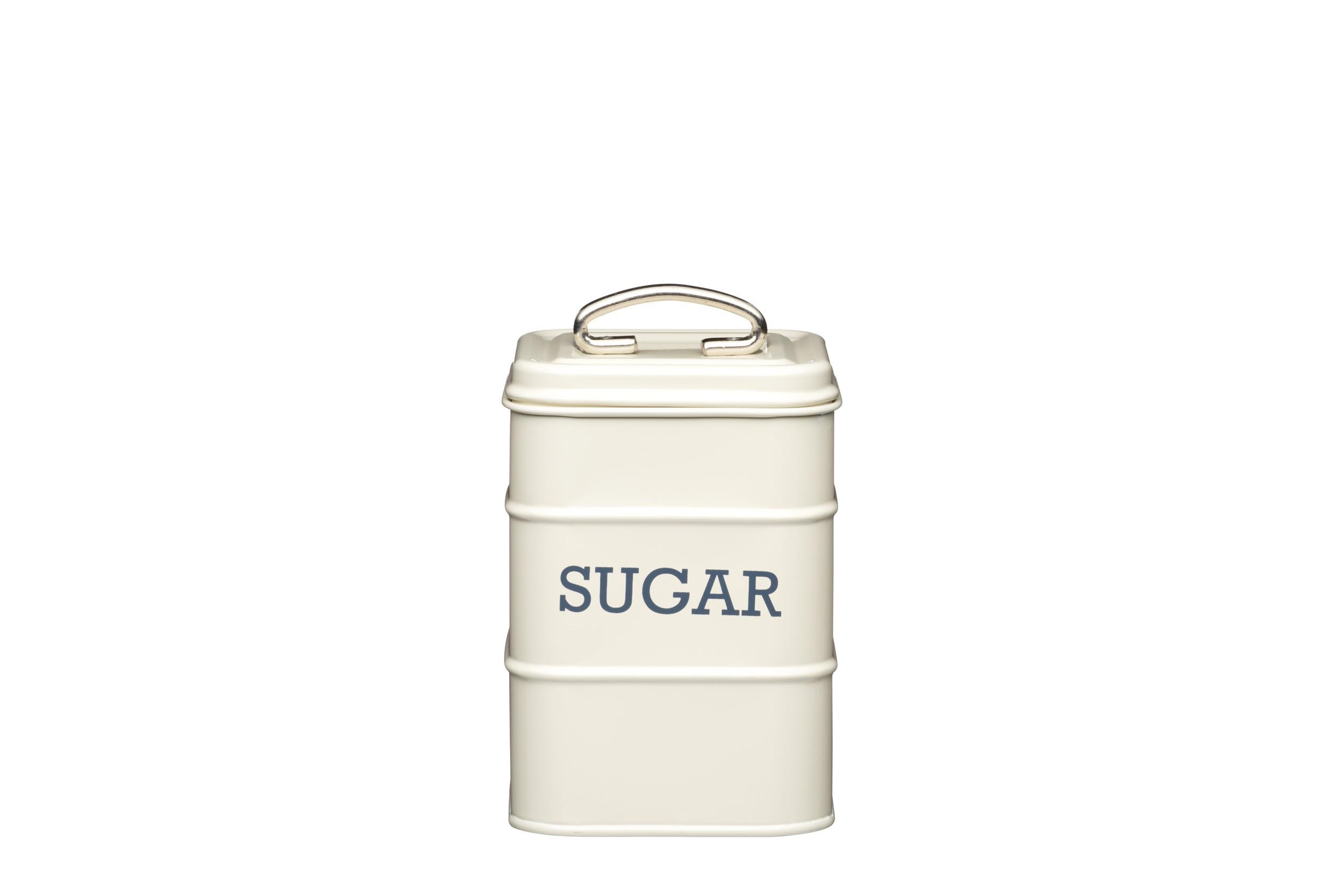 Kitchen Craft Living Nostalgia Sugar Canister Cream 11cm X 17cm