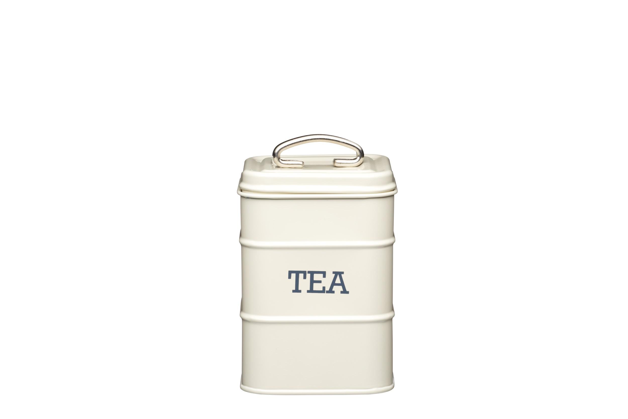 Kitchen Craft Living Nostalgia Tea Canister Cream 11 X 17cm