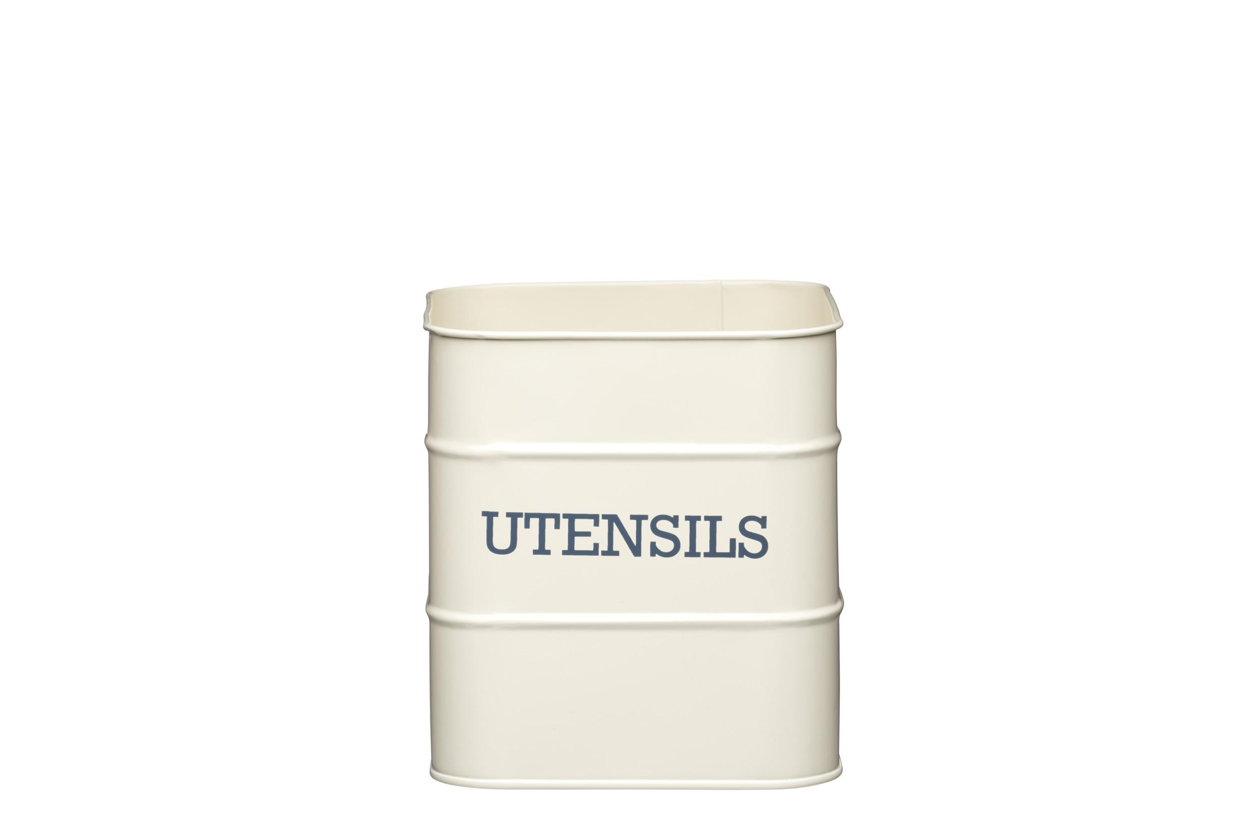 Kitchen Craft Living Nostalgia Utensil Cream 15cm X 16cm
