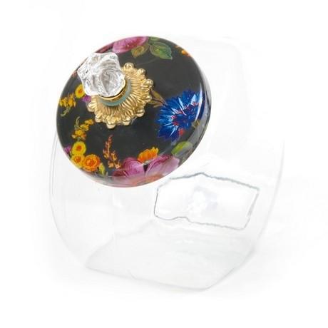 MacKenzie Childs Cookie Jar With Flower Market Enamel Lid online at smithsofloughton.com