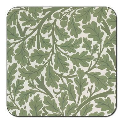 Castle Melamine Oak Leaf Coaster