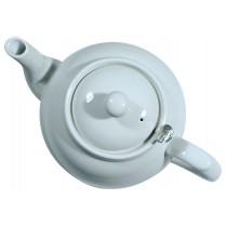 London Pottery Company Farmhouse Filter 2 Cup White Teapot