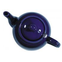 London Potter Company Farmhouse Filter 2 Cup Cobalt Blue Teapot