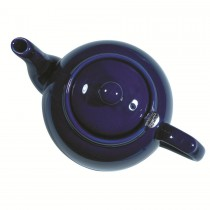 London Pottery Company Farmhouse Filter 4 Cup Cobalt Blue Teapot