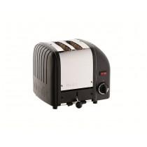 Buy Dualit Vario 2 Slot Black Toaster online at smithsofloughton.com