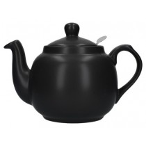 Buy London Potter Company Farmhouse Filter 4 Cup Black Teapot online at smithsofloughton.com