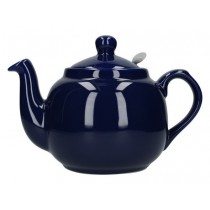 Buy London Potter Company Farmhouse Filter 4 Cup Blue Teapot online at smithsofloughton.com