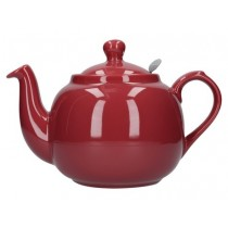 Buy London Potter Company Farmhouse Filter 4 Cup Red Teapot online at smithsofloughton.com