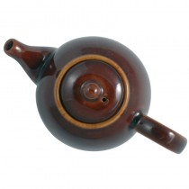 Buy the London Pottery Company Globe 10 Cup Rockingham Brown Teapot online at smithsofloughton.com