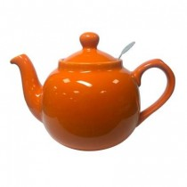 Buy London Pottery Farmhouse Filter 4 cup Teapot - Orange at Smiths of Loughton.com
