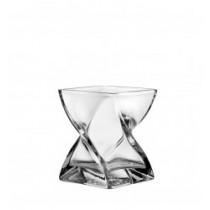Buy the 17cm Leonardo Glass Swirl Vase online at smithsofloughton.com