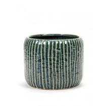 Buy the 20cm Serax Swamp Grey Rib Pot online at smithsofloughton.com