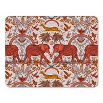 Buy the 38cm Jamida Emma J Shipley Zambezi Placemat in Orange online at smithsofloughton.com