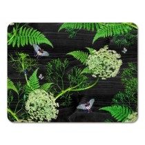 Buy the 29cm Jamida Michael Angove Black Dill Tablemat online at smithsofloughton.com