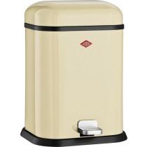 Buy the Almond Wesco Single Boy 13L Bin online at smithsofloughton.com