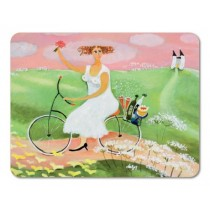 Buy the amida Bessie Johanson My Day Off Tablemat online at smithsofloughton.com