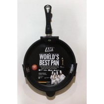 Buy the AMT Gastroguss Induction Deep Frying Pan Removable Handle 32 x 5cm online at smithsofloughton.com