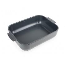 Buy the Appolia Rectangle Ceramic Baking Dish Slate 32cm online at smithsofloughton.com