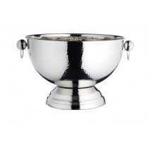 Buy the Bar Craft Hammered Stainless Steel Champagne Bowl online at smithsofloughton.com