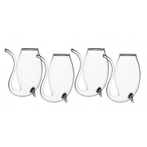 Buy the Bar Craft Set of 4 Glass Port Sippers online at smithsofloughton.com