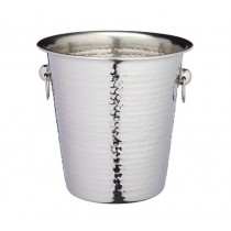 Buy the BarCraft Hammered-Steel Wine & Champagne Bucket online at smithsofloughton.com