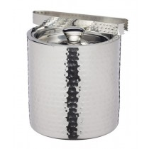 Buy the BarCraft Small Hammered Ice Bucket with Lid online at smithsofloughton.com