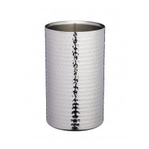 Buy the BarCraft Stainless Steel Hammered Wine Cooler Sleeve online at smithsofloughton.com