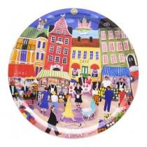 Buy the Bessie Johanson - Stockholm in my heart - circular tray 39cm online at smithsofloughton.com