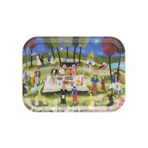 Buy the Bessie Johanson 27x20cm - Summer Party tray online at smithsofloughton.com