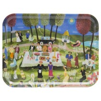 Buy the Bessie Johansson 43x33cm - Summer Party tray from smithsofloughton.com