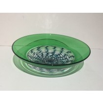 Buy the Bob Crooks Open Lattice Bowl Green online at smithsofloughton.com