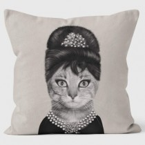 Buy the Breakfast Mono Pets Rock Cushions 40cm online at smithsofloughton.com